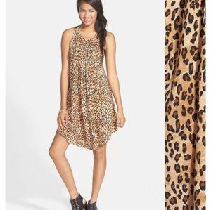 Volcom-Wyld leopard print dress
